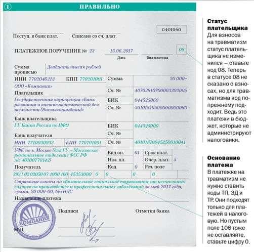 С 25 апреля новый порядок заполнения платежных поручений