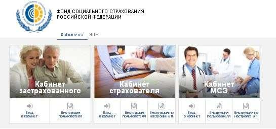 Личный кабинет ФСС юридического лица: инструкция