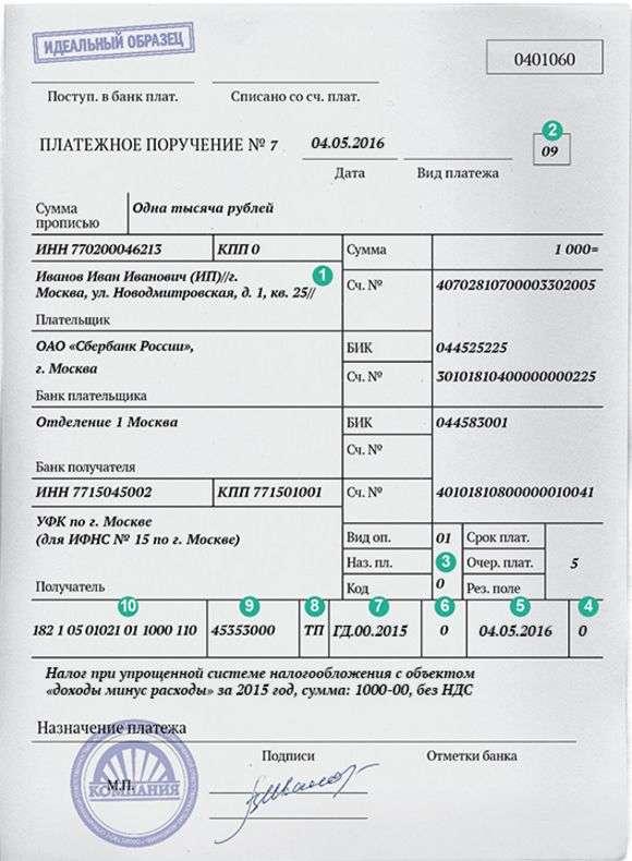 kbk usn dohody minus rashody 2016 - КБК УСН доходы минус расходы 2016