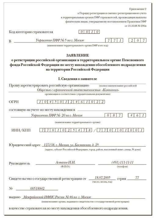 доверенность на регистрацию обособленного подразделения образец - фото 3